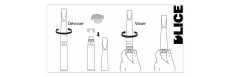 Tour de cou e-cigarette