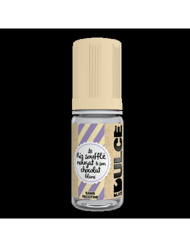 Eliquide Riz soufflé nougat & chocolat blanc DULCE
