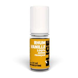 E liquide DLICE Rhum vanille