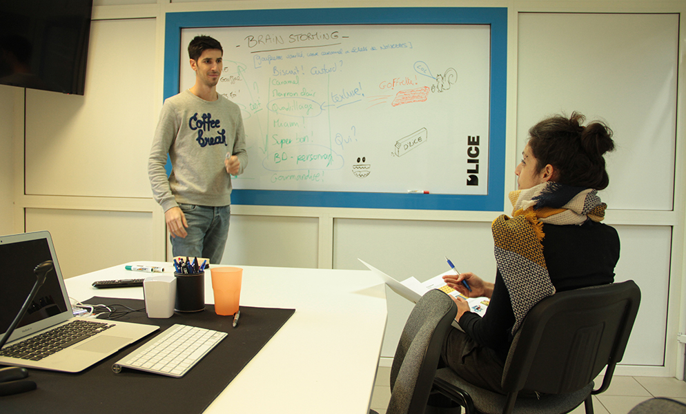 Brainstorming service communication D'LICE