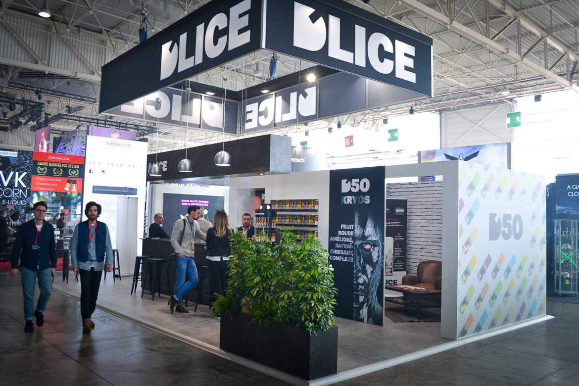 D'LICE Vapexpo 2018 - Stand G13