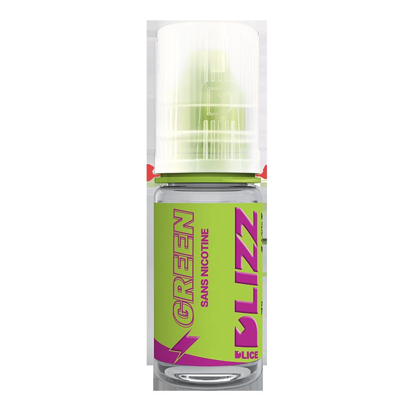 eliquide green reglisse menthol
