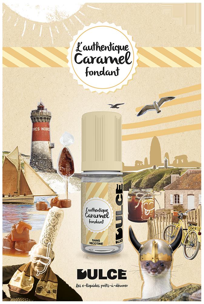 e-liquide caramel origine france