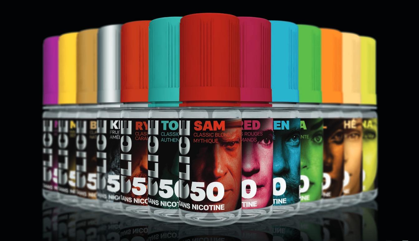Gamme e-liquides premiums D'50