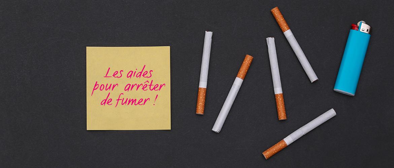 les aides pour arreter de fumer